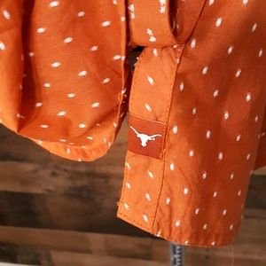 Columbia Tops - Columbia Texas Longhorns Button Down Shirt